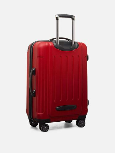 Renegade 24' Expandable Upright Suitcase, RED, hi-res