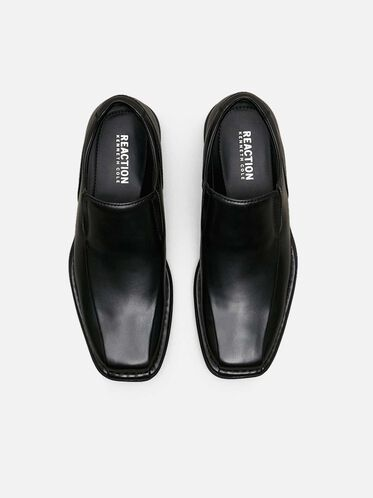 Punchual Leather Loafer, BLACK