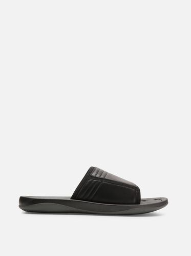 Be-Four Slide Sandal, BLACK