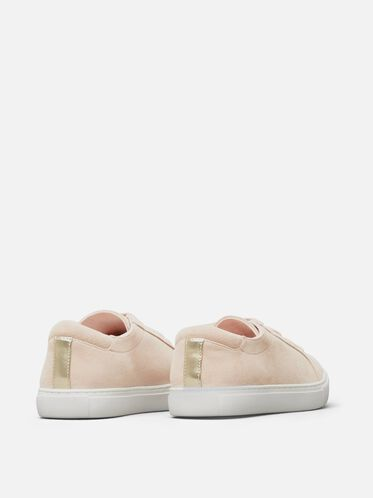 Womens Kam Suede Sneaker, ROSE