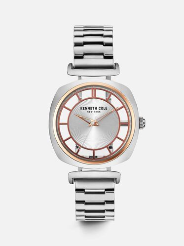 Stainless Steel Transparent Watch, NO COLOR