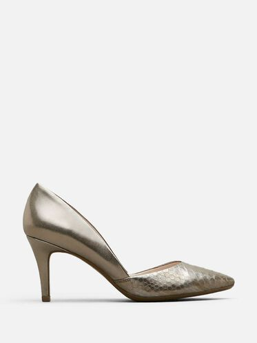 So Savvy Pumps, PEWTER