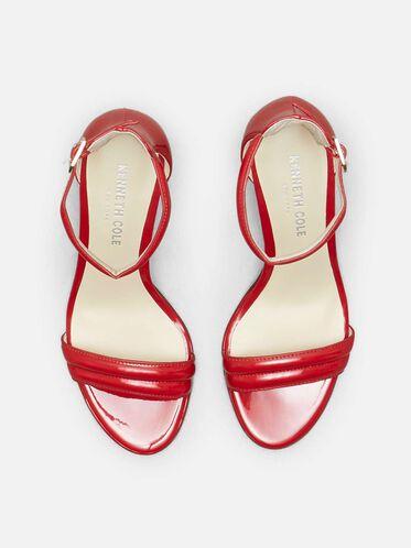 Open-Toe Heel, RED