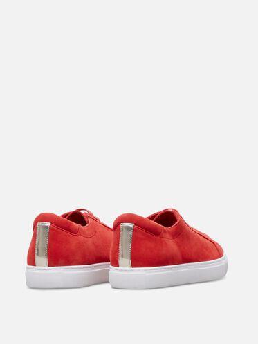 Kam Suede Sneaker, RED, hi-res