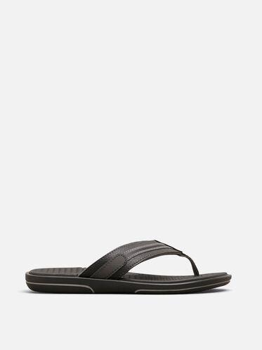 Path-Way Thong Sandal, BLACK, hi-res