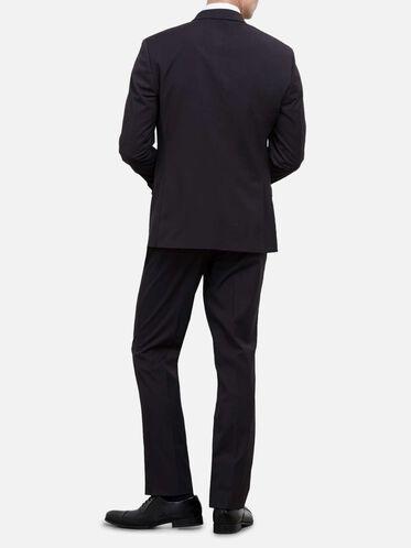 Techni-Cole Flex Mini Check Nested Suit, 012CHARCOA