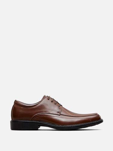 Nice-ly Done Lace Up Oxford, COGNAC