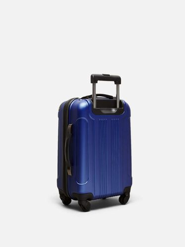 20 Inch Out Of Bounds 4-Wheel Carry-On Suitcase, COBALT