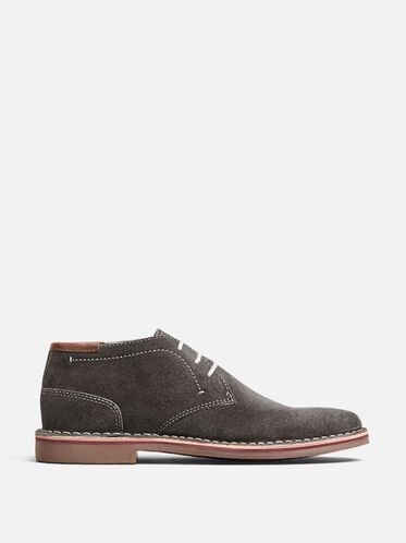 Desert Sun Suede Oxford, DARK GREY
