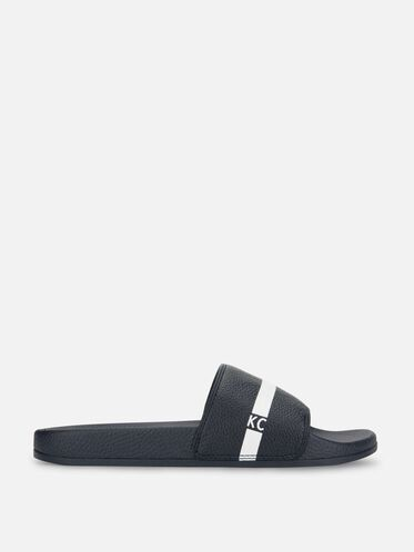 Big Screen Slide Sandal, NAVY