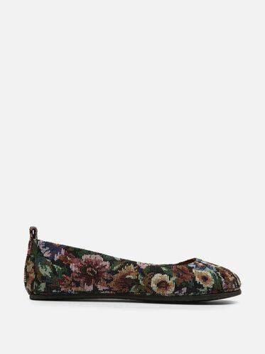Dana Floral Fabric Flat, FLORAL