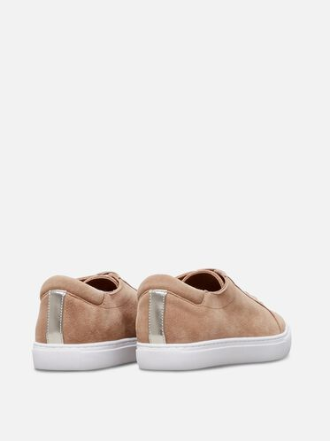 Womens Kam Suede Sneaker, DESERT