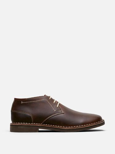 Desert Sun Leather Chukka Boot, BROWN, hi-res