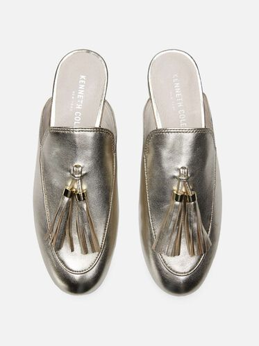 Whinnie Leather Slip-on Loafer, SOFT GOLD