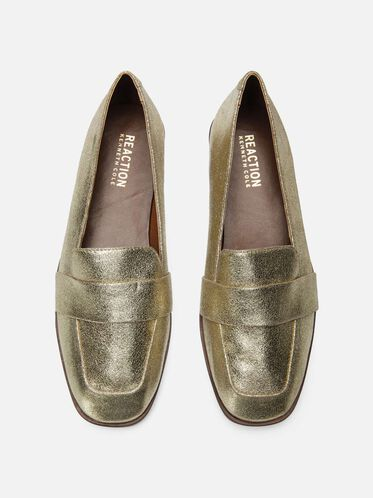 Glide Slide Leather Loafer, SOFT GOLD