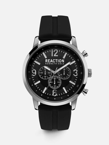 kenneth cole men s smart watches automatic watches leather multi functional black silicon watch reaction kenneth cole 65 00