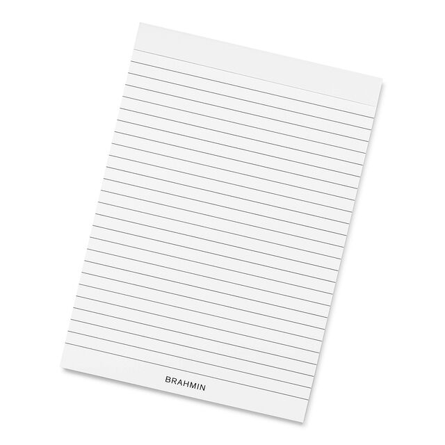 Ruled NotePad Top-Bound A5 White Stationery, White, hi-res