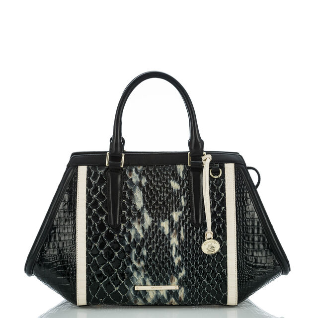 Arden Satchel Black Carlisle, Black, hi-res