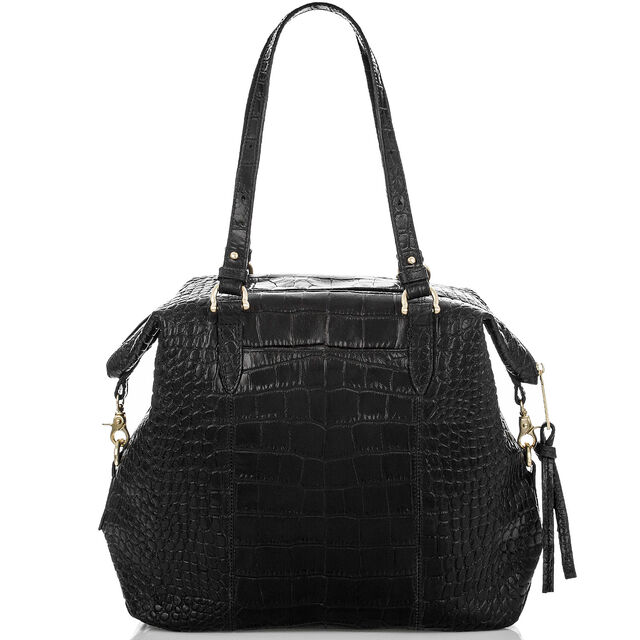 Delaney Tote Black Savannah, Black, hi-res