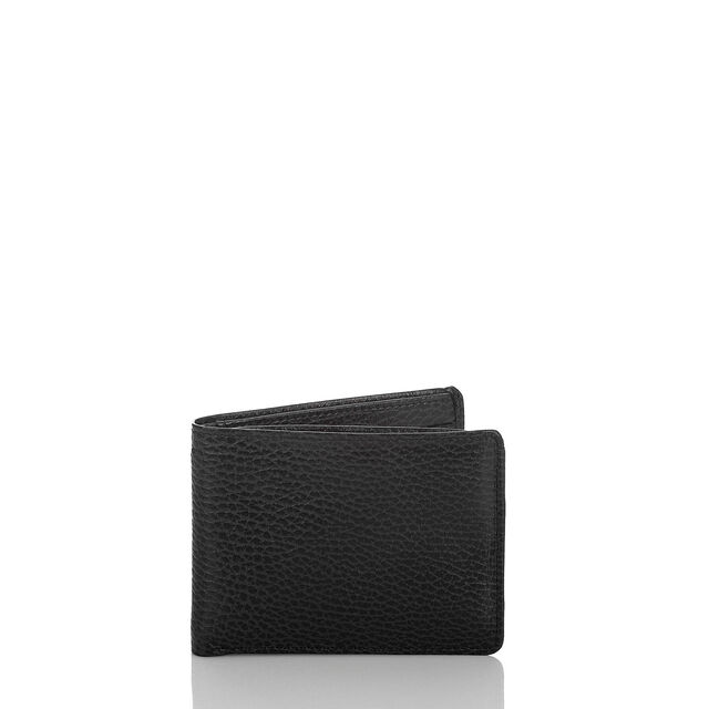 Mens Billfold Wallet Black Romance, Black, hi-res