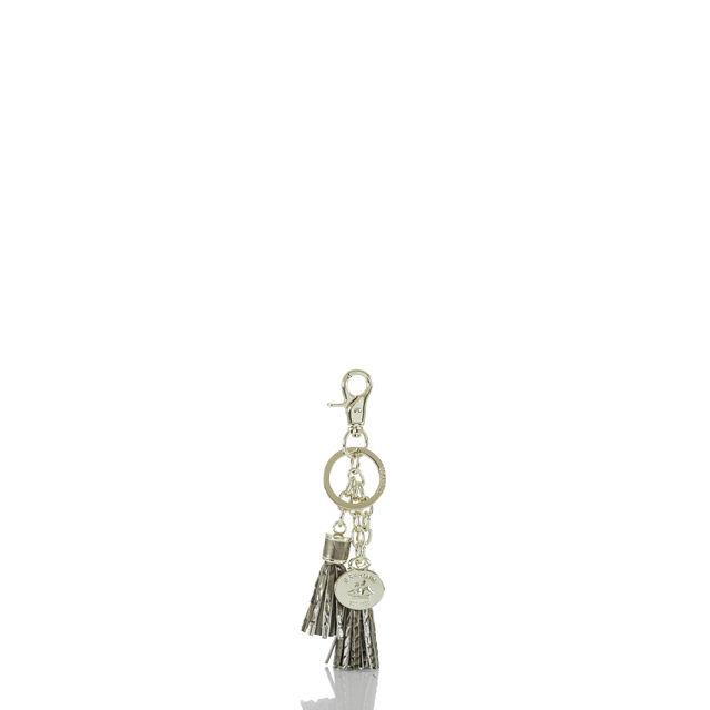 Tassel Key Ring Pewter Melbourne, Pewter, hi-res