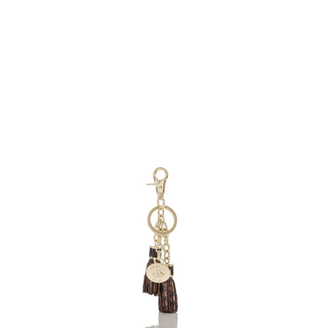 Tassel Key Ring Bronze Java, Bronze, hi-res