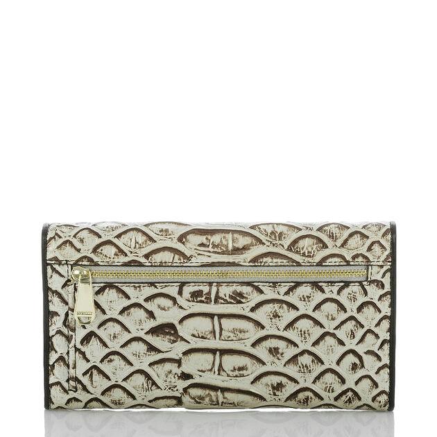 Soft Checkbook Wallet Pearl Dogwood