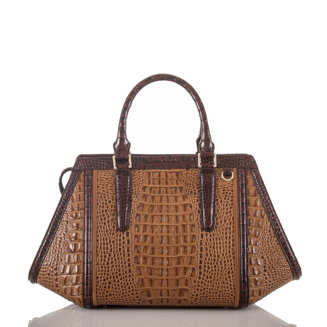 Arden Satchel Tan Capella, Tan, hi-res