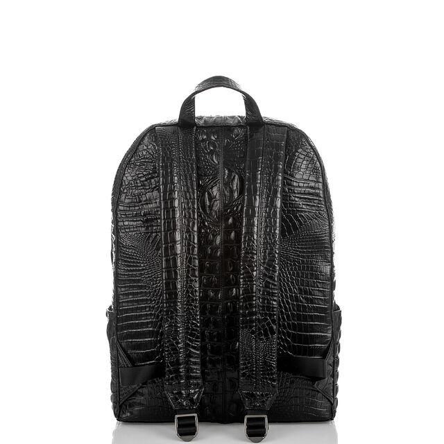 Brian Backpack Black Melbourne, Black, hi-res