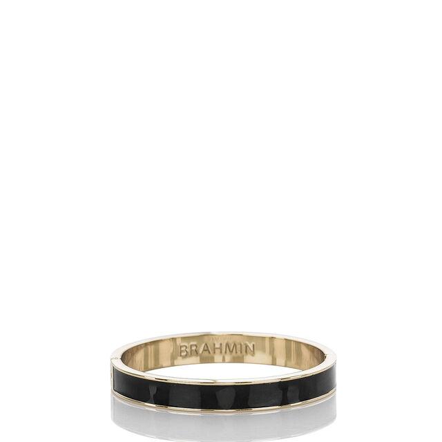 Fairhaven Thin Bangle Black Jewelry, Black, hi-res