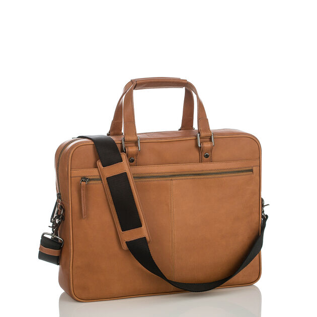 Andy Briefcase Brown Kesington