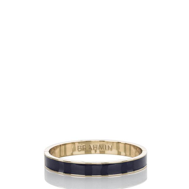 Fairhaven Thin Bangle Navy Jewelry, Navy, hi-res