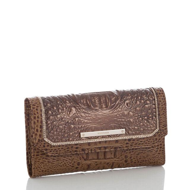 Soft Checkbook Wallet Patina Masolino, Patina, hi-res