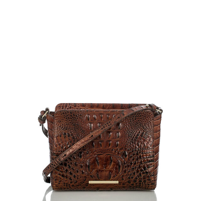 Carrie Crossbody Pecan Melbourne, Pecan, hi-res