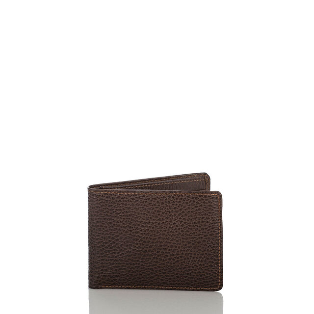 Mens Billfold Wallet Brown Romance, Brown, hi-res