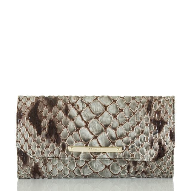 Soft Checkbook Wallet Stone Carlisle, Stone, hi-res