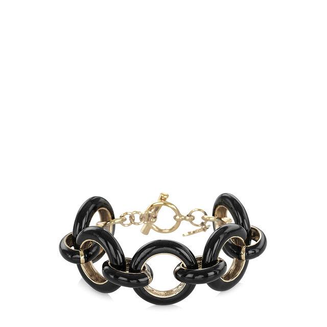 Fairhaven Chunky Bracelet Black Jewelry, Black, hi-res