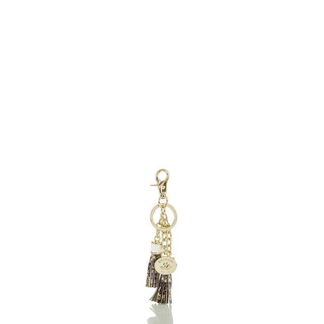Tassel Key Ring Gold Sumatra, Gold, hi-res