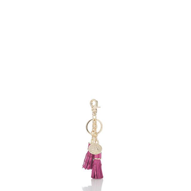 Tassel Key Ring Raspberry Melbourne, Raspberry, hi-res