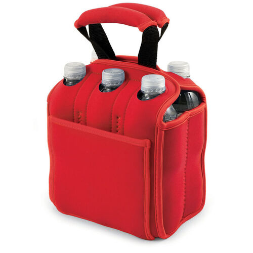 Six Pack Insulated Beverage Tote