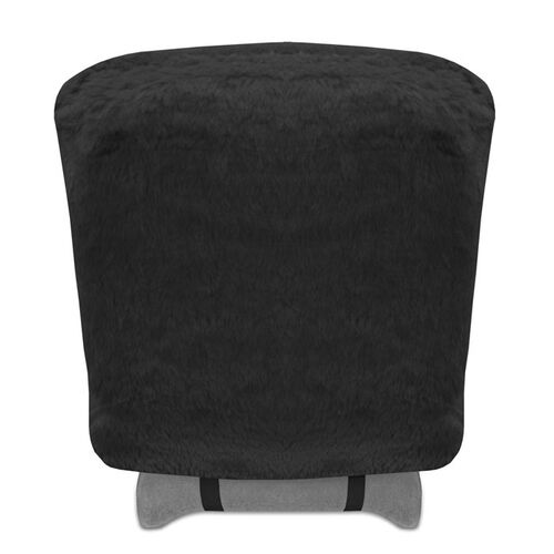 Set of 2 Genuine Sheepskin Stretchback Auto Seat Covers