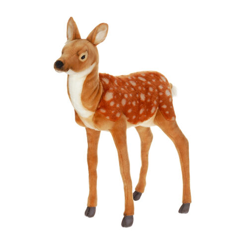 Hansa Plush Realistic Stuffed Animal - Large Standing Bambi Deer