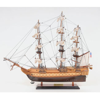 USS Constitution Wooden Boat Model