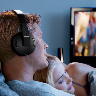 2.4GHz Wireless TV Headphones
