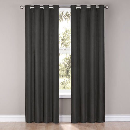 Eclipse Cassidy Blackout Grommet Window Curtain Panel