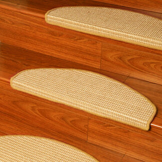Images Euro Sisal Stair Treads - Set of 13
