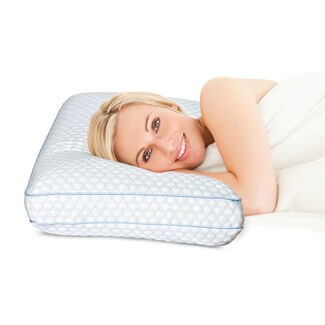 SensorPedic Gel-Infused Regal Gusseted Pillow with Sensor-Foam and iCool Technology