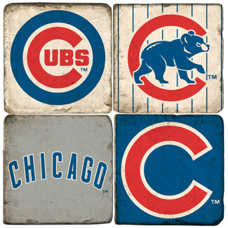 Chicago Cubs Logo Drink Coasters