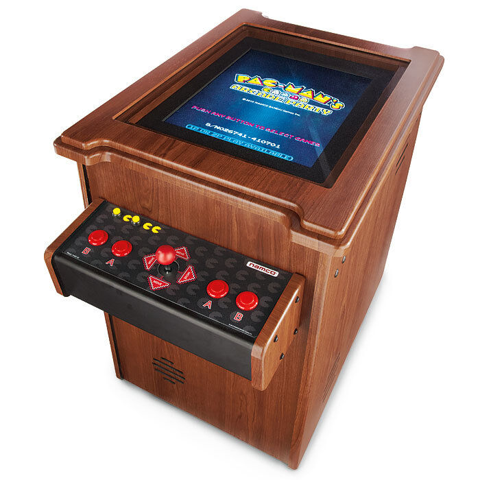 pac man arcade party cocktail table video game machine. Black Bedroom Furniture Sets. Home Design Ideas