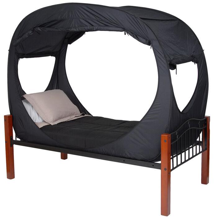 Privacy Pop Bed Tent Black Twin Xl Ebay